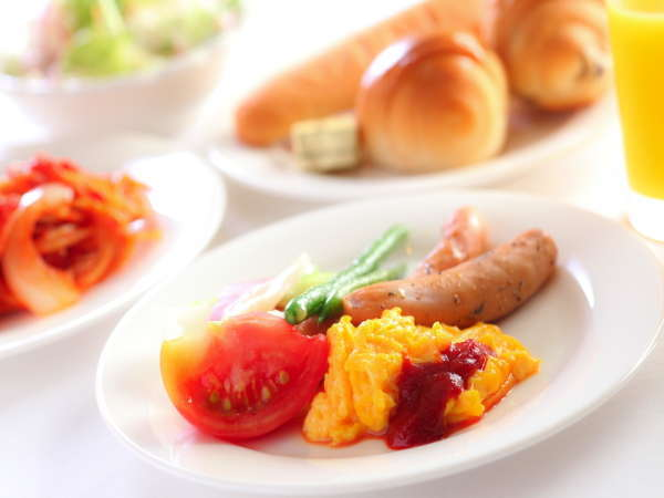 朝食盛り付けイメージ