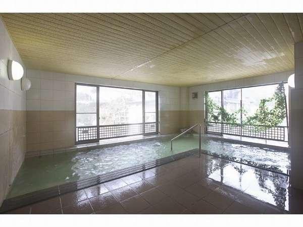 日本三大薬湯の薬湯を広々ゆったりしたお風呂で堪能