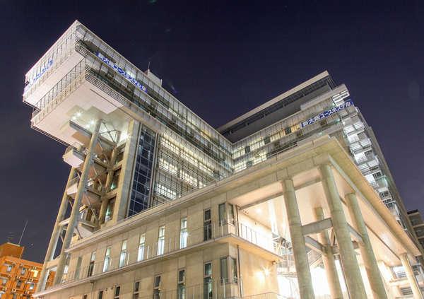 大浴場完備!10階から大阪の街並みが一望できます。