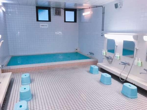 【浴場】御宿泊の方は、どなたでもご利用できます。(1F)