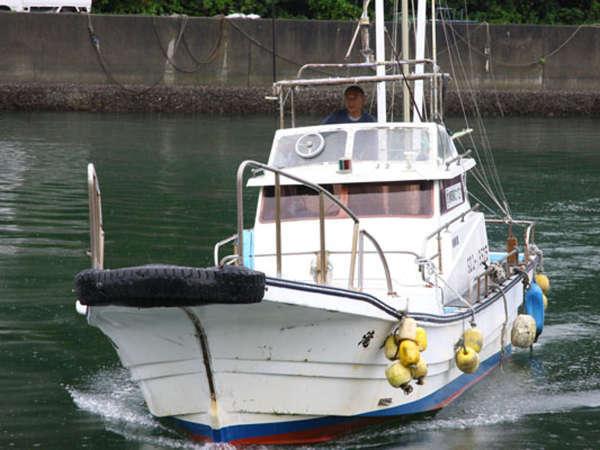 旬魚を自信を持ってオススメする漁師の宿です