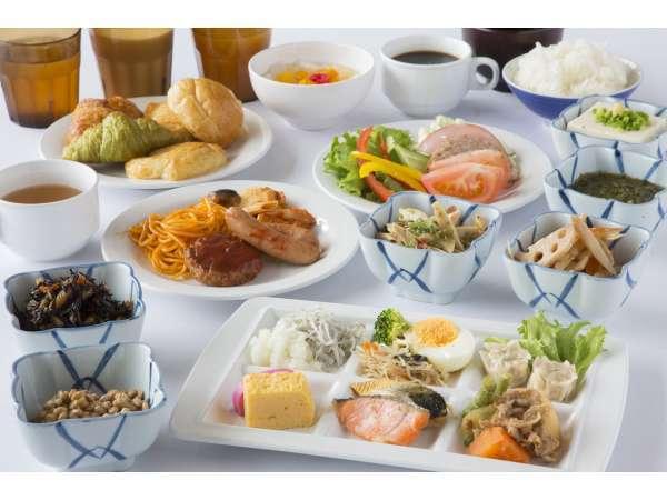 和洋ビュッフェの朝食♪