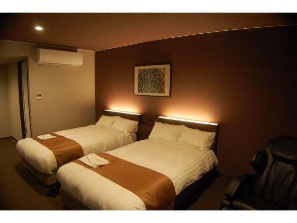 ツインルーム 広々と快適に過ごせます!安らぎと癒しのアーバンリゾートスタイル
