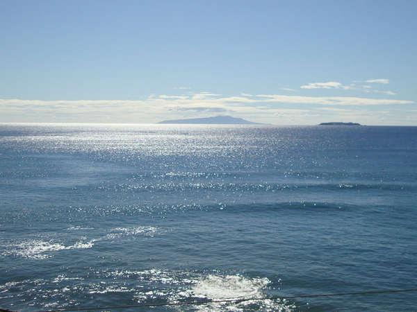 晴れた日の相模湾。キラキラと輝く水面を眺め癒されてください!