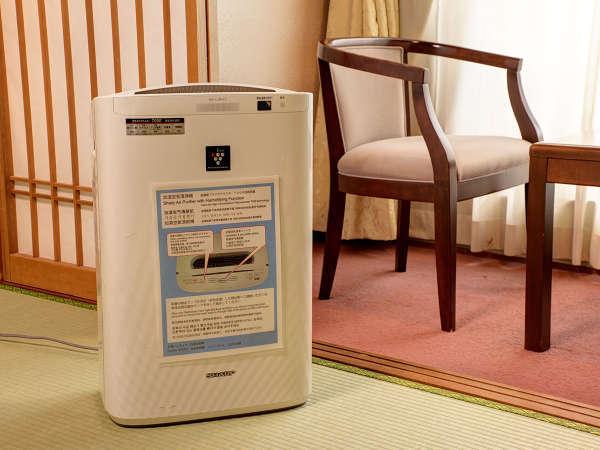 *【全室完備 加湿空気清浄機】