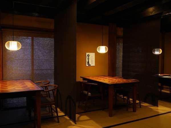 食事処【料匠KoHaKu】半個室のテーブル席