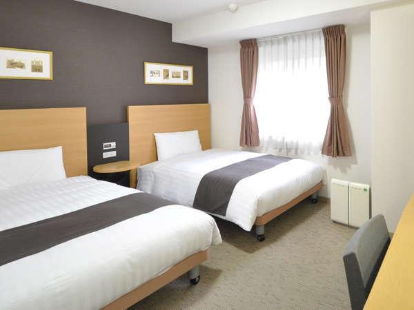 ◆ツインエコノミー◆120cm幅ベッド×2台◆