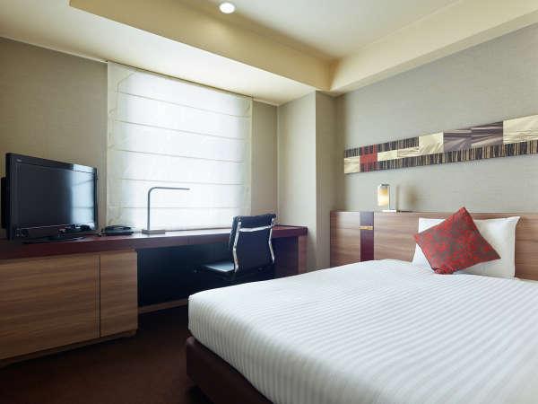 【スタンダードダブル】Serta社製 ポケットコイルベッドを採用し、快適な睡眠をお約束します