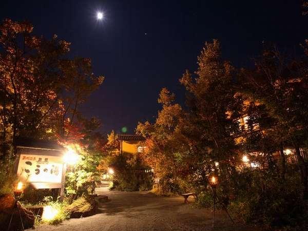 高台なので月灯り・星空が美しい