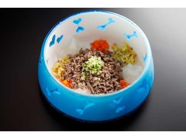 ワンちゃんご飯牛肉と野菜