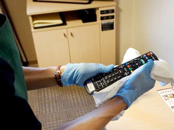 【感染症対策】テレビリモコンのアルコール消毒