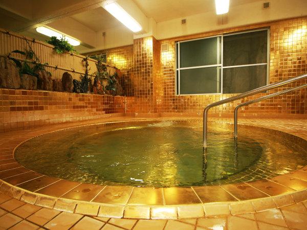 【高繁旅館】温泉三昧★大きな内湯、露天風呂、そして黄金風呂!自家源泉の宿