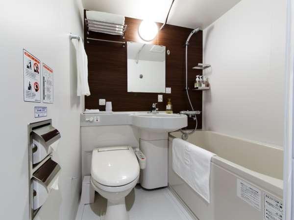ユニットバストイレは洗浄機能付きです。