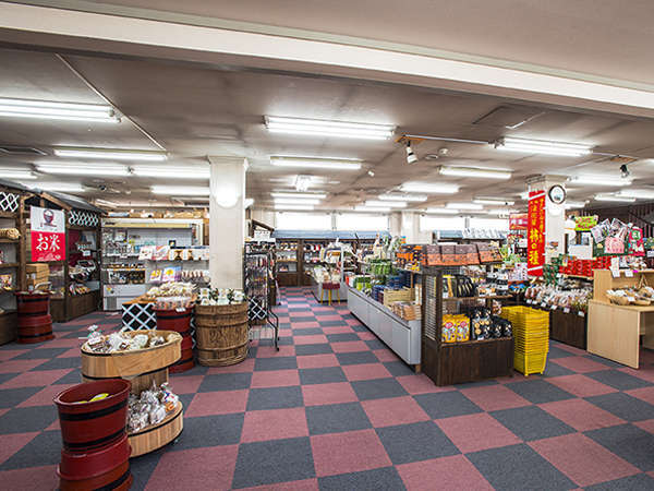 隣接 お土産売店(土日祝10:00~15:00)レトロコーナーや昔懐かしの駄菓子コーナーできました!!