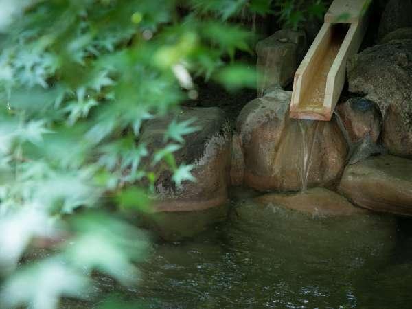 ◆野天風呂◆四季折々の自然に囲まれた野天風呂です。