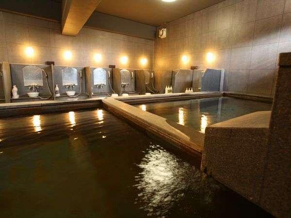 天然温泉100%大浴場