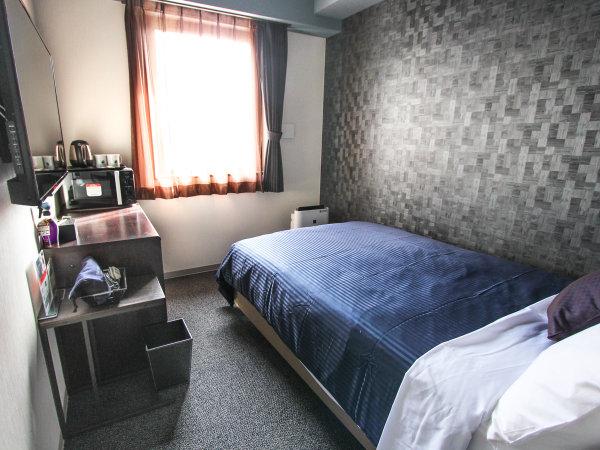 ◆シングルルーム◆全室シモンズベッドを完備!最大2名様までご利用頂けます。※添い寝利用となります。