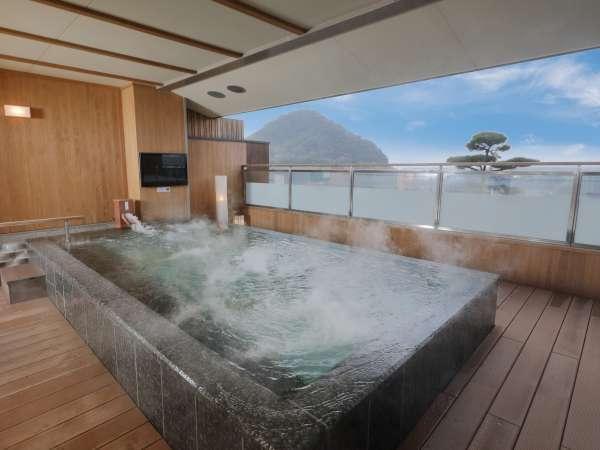 美萩の絶景露天風呂♪開放感あるれる露天風呂と日本海の絶景を臨む♪