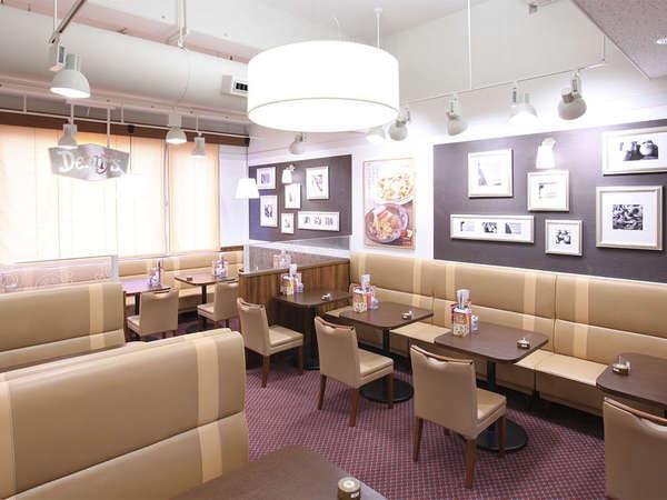 【朝食】3階レストラン朝食会場…3階デニーズ・朝食提供時間:6:00am~11:00am