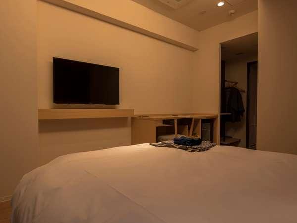 ◆スーペリアダブル(バス・トイレ別)◆20平米【ベッド幅140cm×1】