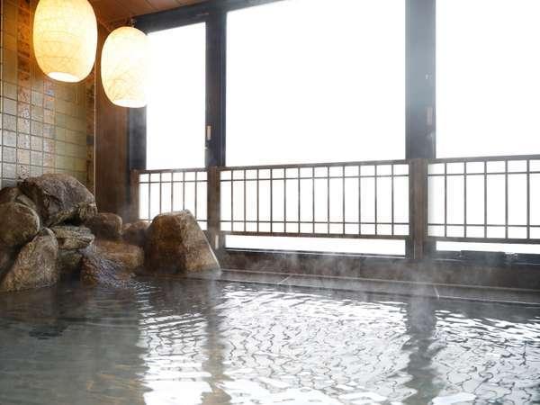 【男子】内湯 (天然温泉 湯温:41~42℃)