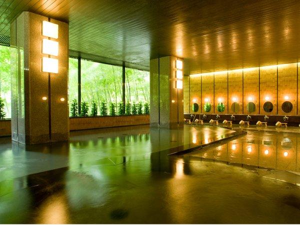 【大浴殿・春夏秋雪】チェックイン~チェックアウトまでご入浴頂けます。