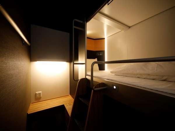 ◆上段キャビン ベットサイズ105×207センチ