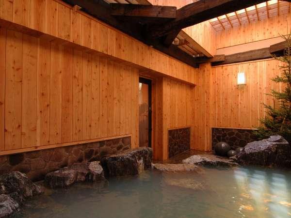 ◆源泉かけ流し100%の露天風呂。