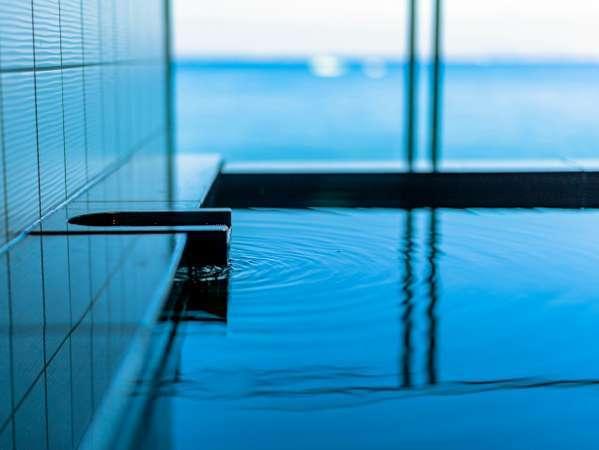 【客室専用露天風呂】さざねのお部屋には全て露天風呂付オーシャンビューです。