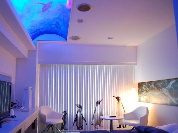 【旭山動物園ルーム】~ペンギンのお部屋~※他にしろくまのお部屋もございます