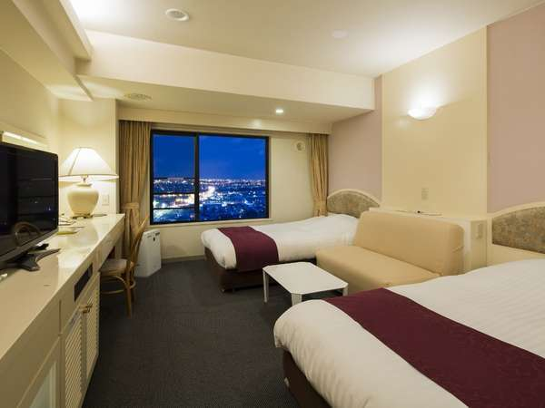 全客室から旭川の景色をご覧頂けます♪