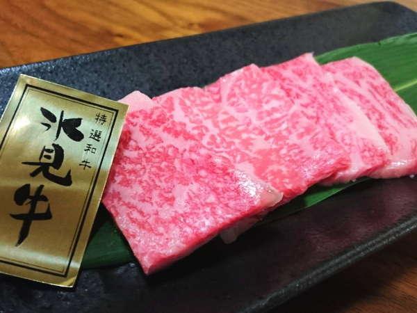 【氷見牛ステーキ】A4ランク以上の最高ランクのお肉を、いけもりでは提供致します!
