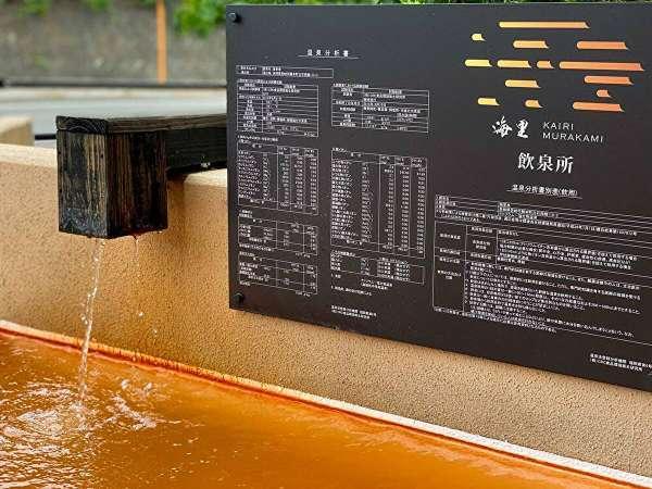 【飲泉】温泉が胃腸や肝臓などの局所的に作用する入浴と同様の効果が得られると温泉医学の研究で明らかに。
