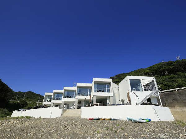 【外観】リニューアルOPEN!「ちょっとリッチな海の家」贅沢に海遊びをご満喫ください