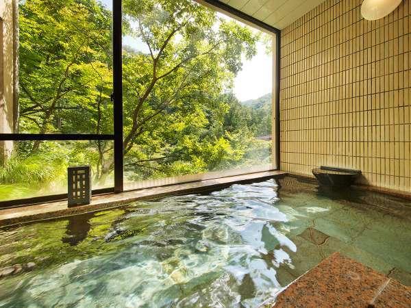 【家族風呂『山なみの湯』】ご宿泊のお客様ならどなた様でも貸切でご利用可能です。