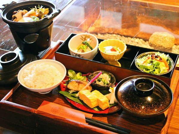 【朝食】奈良大和の食材を贅沢に使用した和定食!