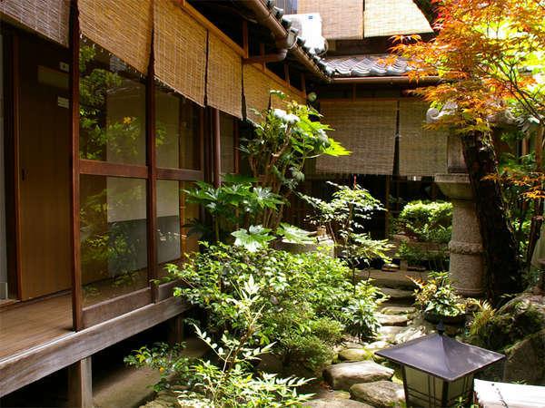 """館内にいながら""""京都らしい風情""""をお楽しみ下さい★和の京都風情を感じたい人にオススメです♪"""