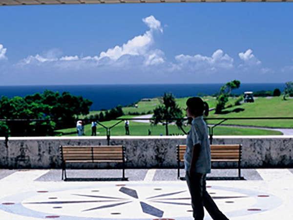 デッキからも沖縄の空と海を感じていただけます