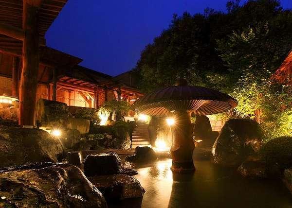 【ホテル 木暮】伊香保の源泉「黄金の湯」全湧出量の4分の1を保有!