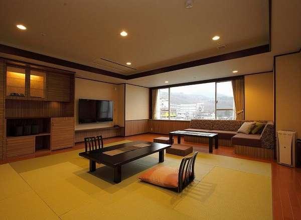 和モダン客室「ゆの香」12.5畳(55㎡)