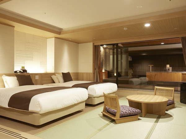 <山水亭> 和洋室の一例
