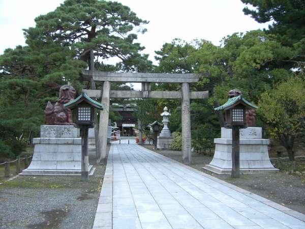 新潟でお参りと言えば!白山神社!