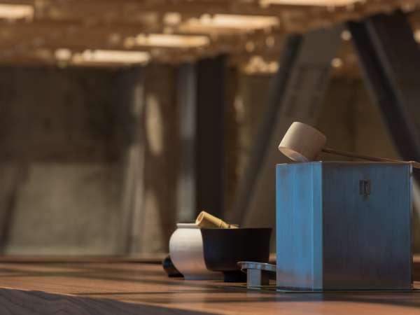 【KISSA&Co.】特製の茶釜
