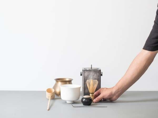 【KISSA&Co.(キッサコ)】1Fのカフェでは、スタッフによる点茶をお愉しみいただけます