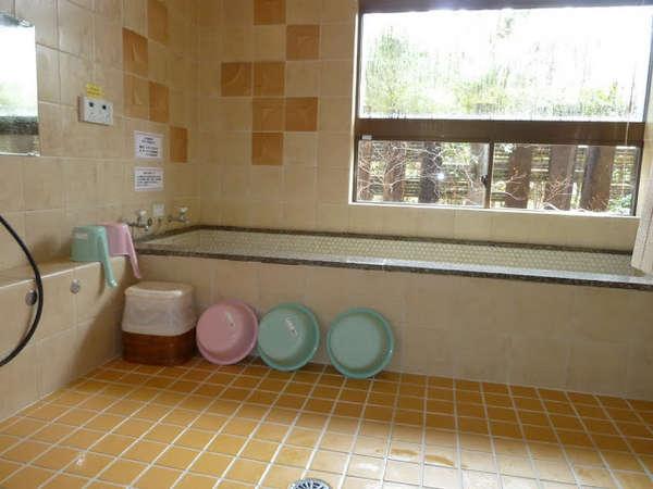 天然温泉100%のお風呂です