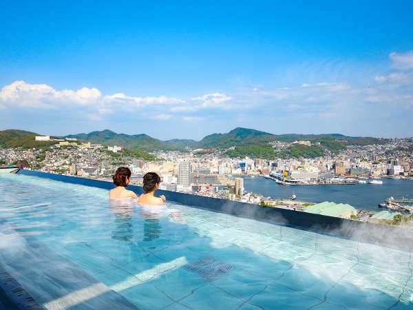露天風呂からの眺めは最高♪