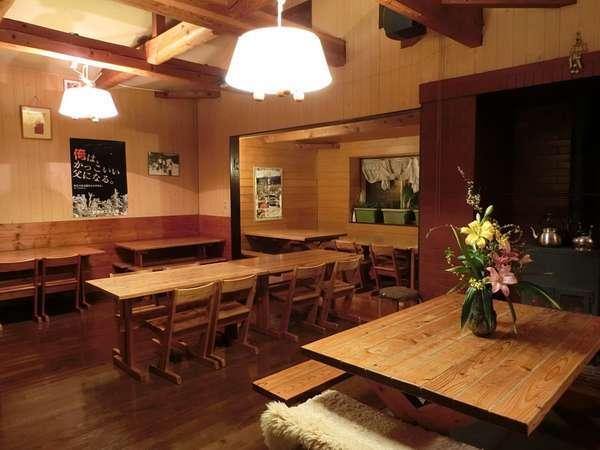 【カントリーロッジ 木の実】野麦峠スキー場まで最も近い、明るく気さくな宿です。