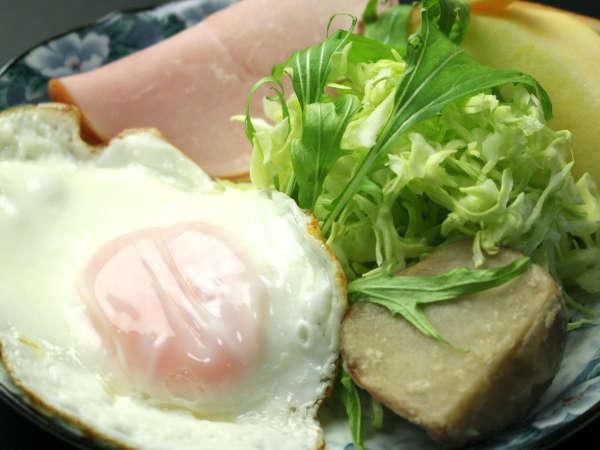 朝は和朝食で活力チャージ(^^♪