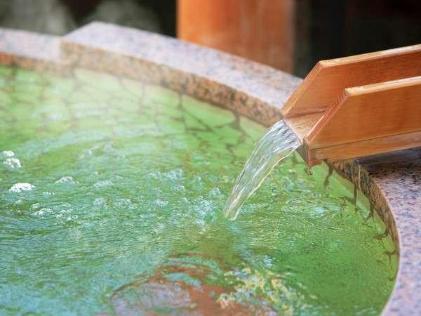 貸切露天風呂も温泉となっております(予約制)