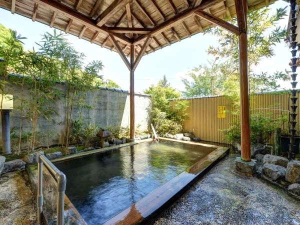 *[露天風呂一例]多種多様の効能を誇り千年以上多くの旅人を癒してきた『いわき湯本温泉』